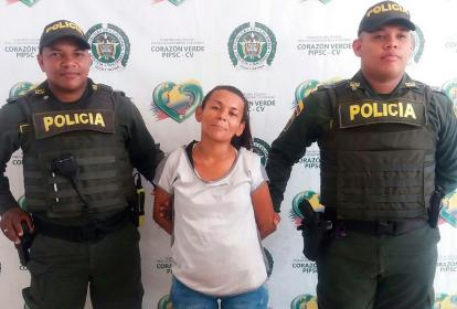 Mary Luz Mendoza Mauris, de 27 años.