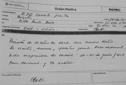Orden médica de Otto Bula