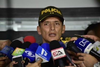 General Mariano Botero Coy, Comandante de la Policía de Barranquilla.