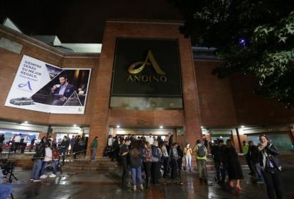 Centro comercial Andino, en Bogotá.