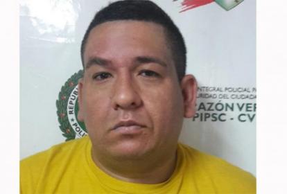 Diego Niebles Bolívar, presunto delincuente.
