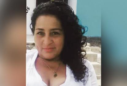 Rosalba Escorcia Hernández, una de las víctimas del accidente.