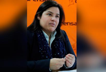Ximena Dueñas, directora del Icfes.