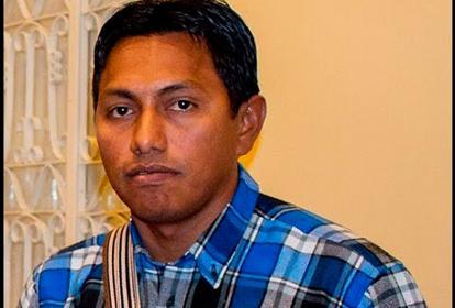 Javier Rojas, líder wayuu