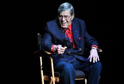 El humorista y actor estadounidense Jerry Lewis, quien falleció a los 91 años.