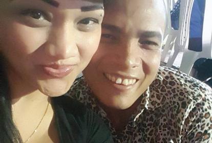 Fania Paba y su pareja Ismael de Alba Rodríguez.