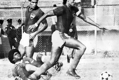 Radamel García cuando jugaba en el Unión Magdalena.