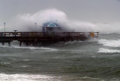 Irma, uno de los más devastadores, provocó olas gigantes en zonas como Florida.