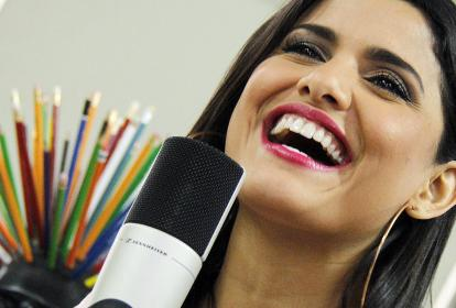 Martina La Peligrosa durante su paso por #SesionesEH.