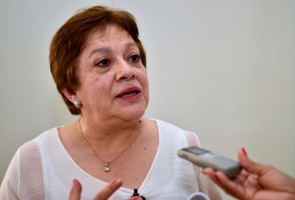 Ana Lucía Villa, directora de Apoyo Fiscal del Ministerio de Hacienda.