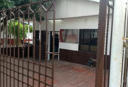 Salón de Cultura, sede de la CUC donde ocurrió el robo.