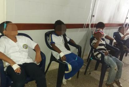 Menores que resultaron intoxicados recibieron atención médica.