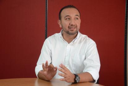 Jonathan Vargas Laverde, gerente de Profamilia Regional Norte.