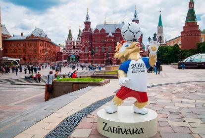 Zabivaka, la mascota oficial del Mundial de Rusia.