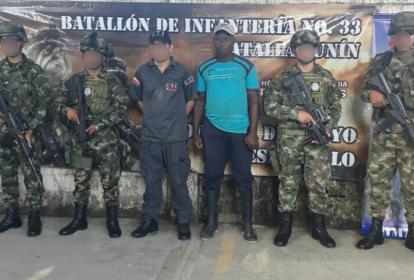 El detenido fue dejado a disposición de la Fiscalía en Montería.