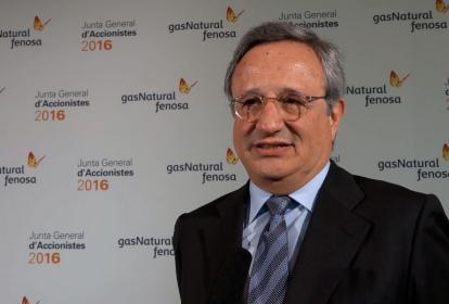 El consejero delegado de Gas Natural Fenosa (GNF) Rafael Villaseca.