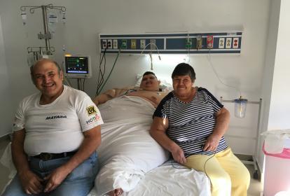 Juan Pedro Franco fue operado en la ciudad de Zapopan (Jalisco, oeste).