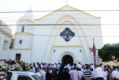 Catedral del Rosario, en Valledupar.