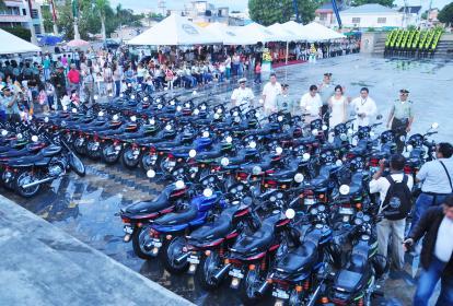 Las 51 motocicletas en las que, al parecer, hubo sobrecosto.