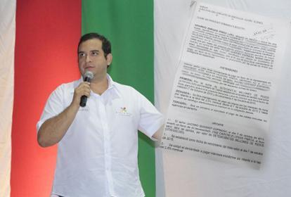 Jacobo Quessep y la demanda puesta por el prestamista.