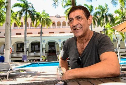 Viera en diálogo con EL HERALDO en el hotel.