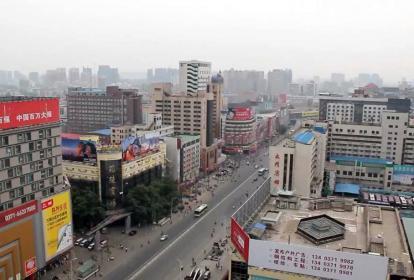 El hecho se registró en la ciudad china de Zhengzhou.