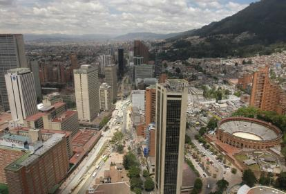 Bogotá, capital de Colombia.