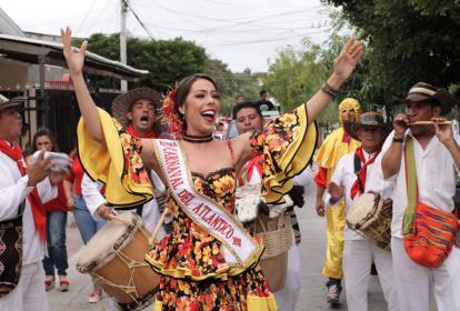Reina del Carnaval del Atlántico, María Borrás.