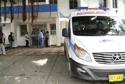 Centro médico donde fue remitido el bebé.