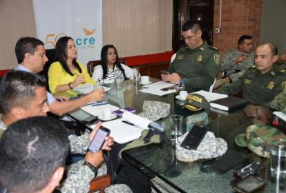 En la mañana de este martes las autoridades de Sucre ultimaron detalles para la visita de los funcionarios del Gobierno Nacional.