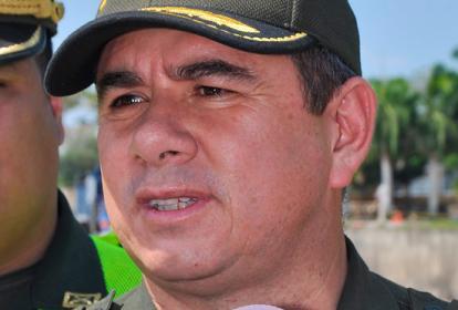 Coronel Henry Orlando Jiménez Alba, designado como el nuevo comandante de la Policía Nacional en el departamento del Atlántico.
