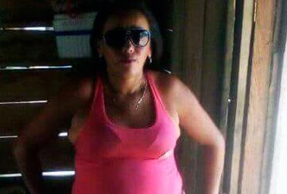 Yeira Luz Lamar Teherán, de 37 años, asesinada.