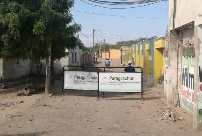 Los controles en Paraguachón son estrictos.