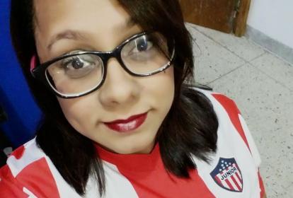 Carolina Cervantes, conocida como @casitanegra, era una empedernida seguidora de Junior.