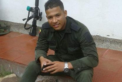 El patrullero de la Policía Nacional, José David Pérez Hernández.
