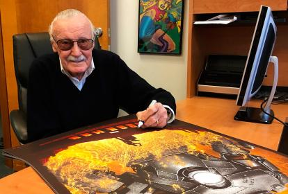 El fundador del Universo Marvel, Stan Lee.