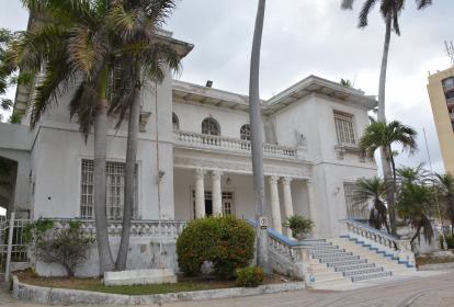 La casa funeraria Jardines del Recuerdo, ubicada en la calle 53 No 50-57. Será rematada el 19 de abril.