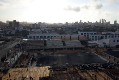El Complejo Acuático Eduardo Movilla está en construcción actualmente.