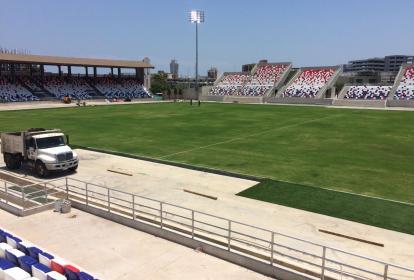 Así luce actualmente el estadio Romelio Martínez
