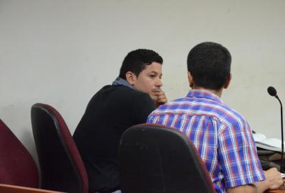 Carlos Flórez González, durante la audiencia.