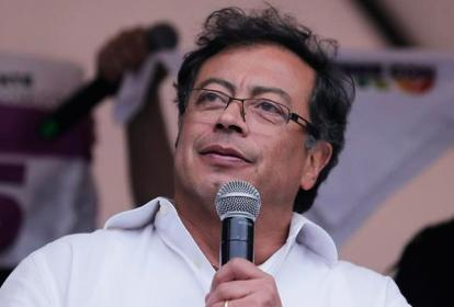 Gustavo Petro, candidato presidencial.