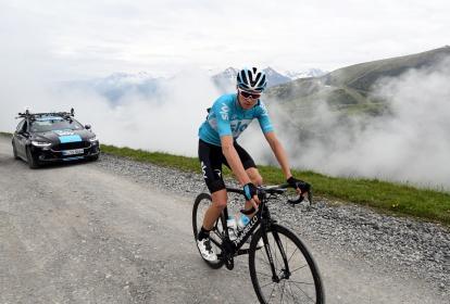 El ciclista británico Chris Froome.