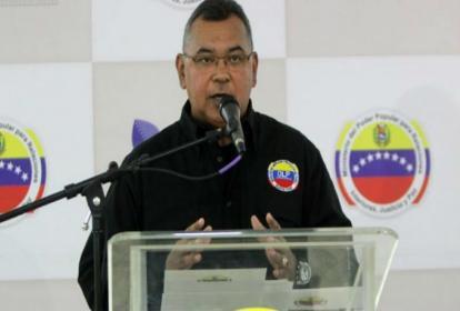 Néstor Reverol, ministro del Interior de Venezuela.