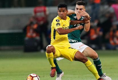 Boca, de Barrios, y Palmeiras, dos de los protagonistas.