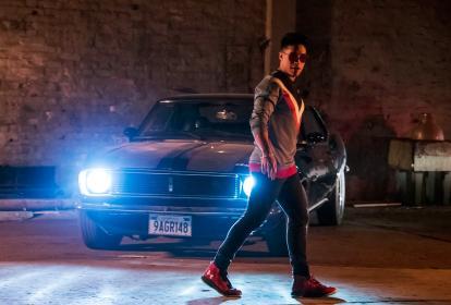 Escena del videoclip de la canción 'Me provoca', que se rodó en Bogotá.