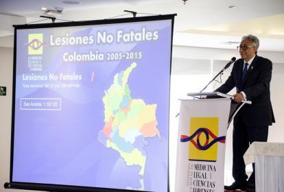 Carlos Eduardo Valdés Moreno, director nacional de Medicina Legal.