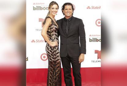Carlos Vives y Claudia Elena Vásquez.