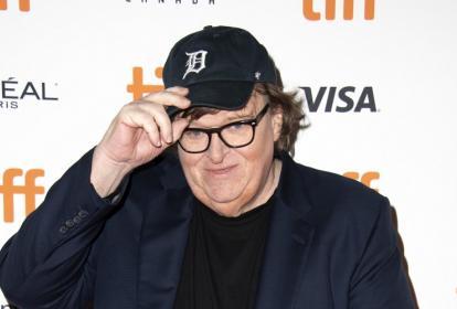 Michael Moore, director de cine norteamericano.