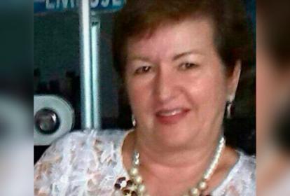 Cornelia Sofía Martínez de Quintero, víctima.