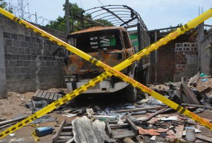 En este sector Adolfo Arrieta quemó el cuerpo de Génesis; posteriormente una turba le destruyó la casa.
